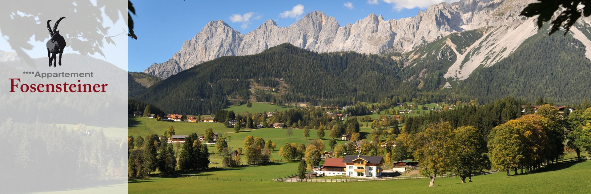 Appartement Fosensteiner in Ramsau am Dachstein