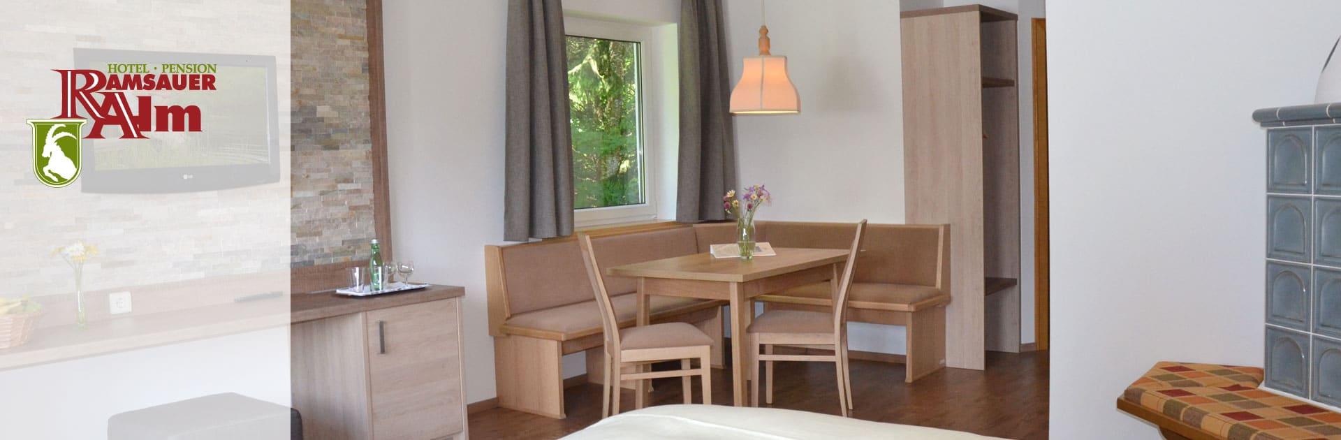 Familienzimmer im Hotel Ramsauer Alm in Ramsau am Dachstein