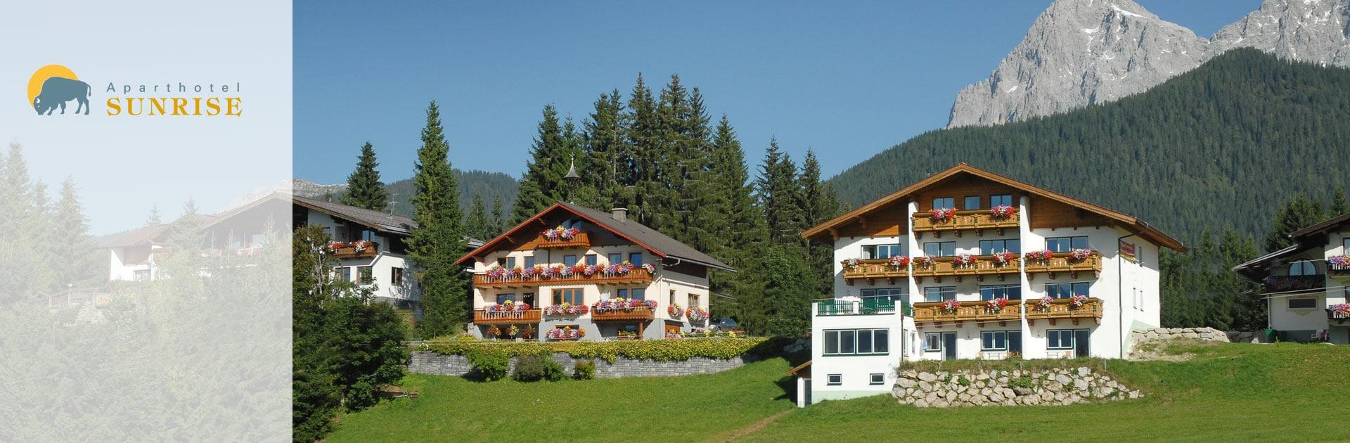 Aparthotel Sunrise in Ramsau am Dachstein